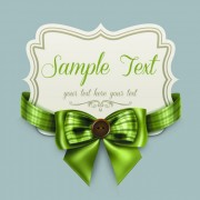Link toPretty bows cards vector graphic 02