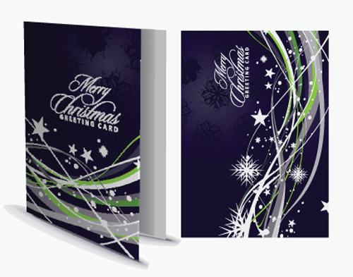 File set of 2013 christmas greeting card vector material 02 download
