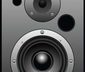 Different Speaker System design vector set 01