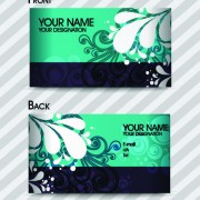 Link toCommonly stylish business card design vector 01