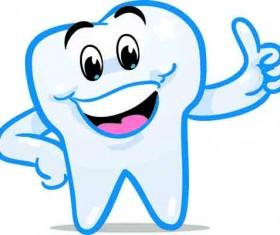 Protect teeth design elements vector graphics 01