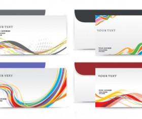 envelope presentation Template design vector 03
