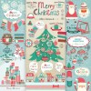 Vivid Christmas decor elements vector graphics 04