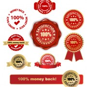 Link toSet of wax seal and award design elements vector 02