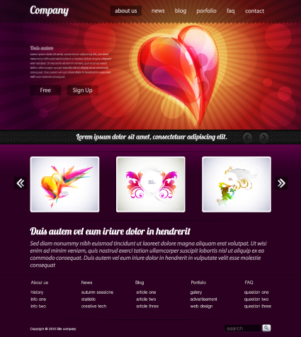 Black style website templates design vector 01 vector web design black style website templates design vector 01 pronofoot35fo Gallery