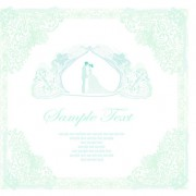 Link toShallow color wedding backgrounds art vector 04