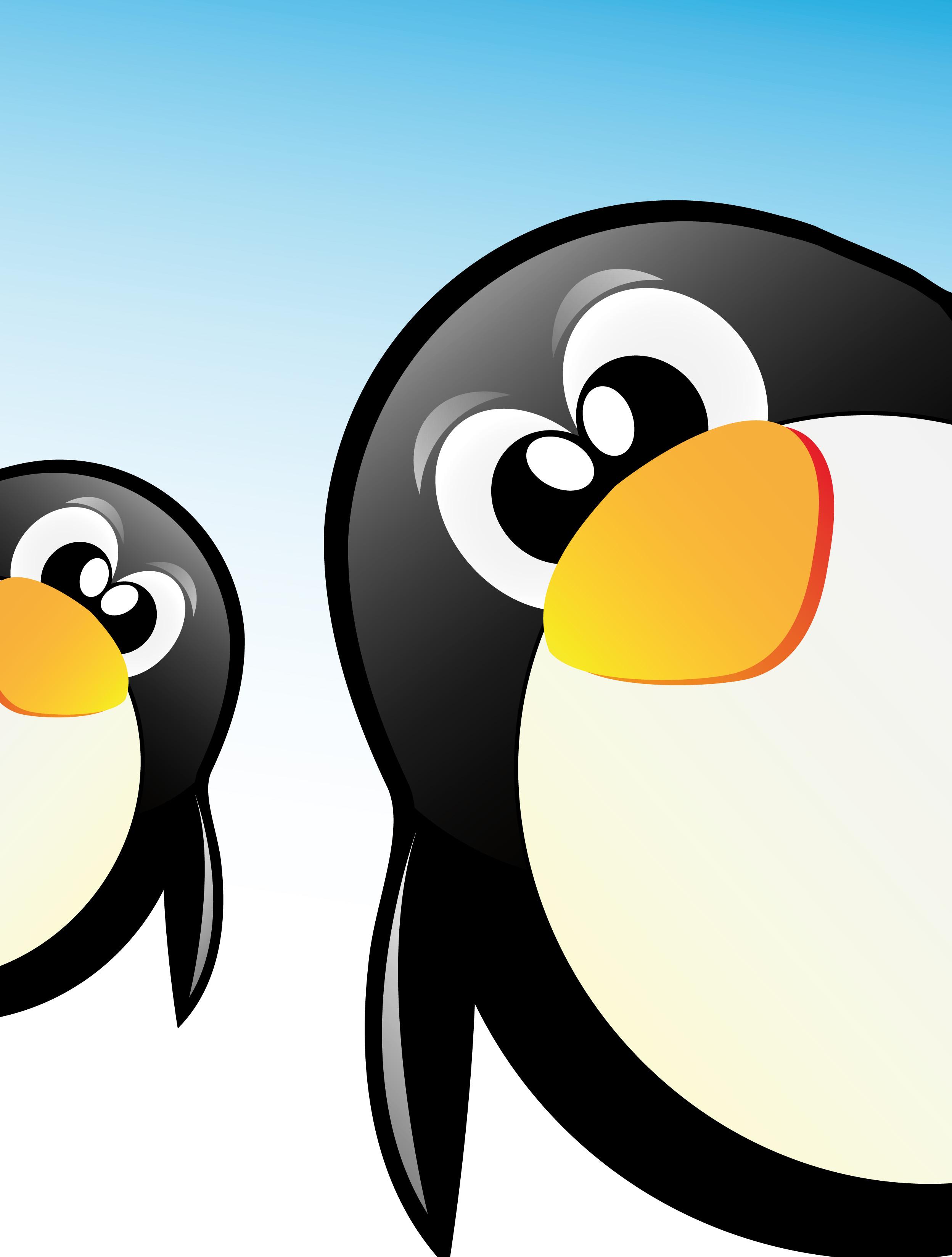 Funny penguins design elements vector 05 - Vector Animal free download