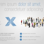 Link toDifferent business people vector background set 01