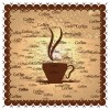 Different Coffee elements vector background set 03