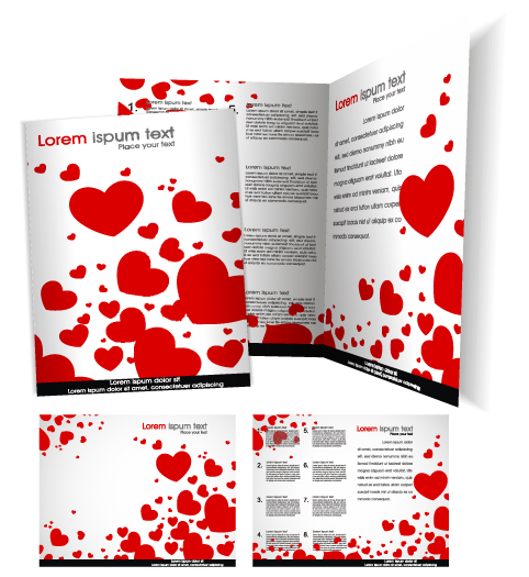 Cover Template flyer and brochure design vector 01