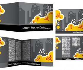Cover Template flyer and brochure design vector 02