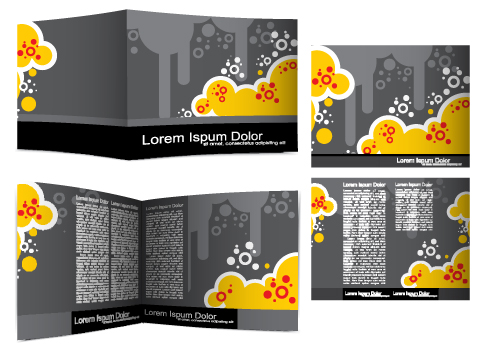 Cover Template flyer and brochure design vector 02 free ...