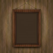 Link toSet of wooden background with frames vector 01