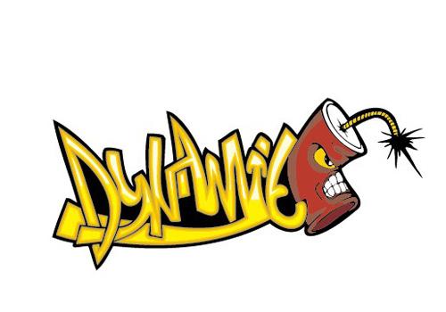 Funny graffiti alphabet design vector 01