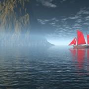 Link toCharming sea landscape design vector 01