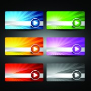 Link toWeb design stylish banner vector graphic 01