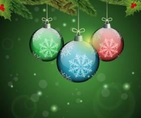Elements of Merry Christmas design vector art 01