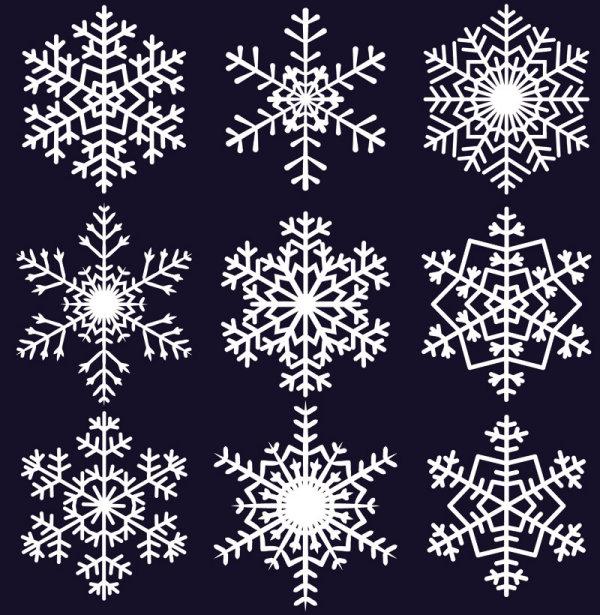 Snowflakes free vintage crochet patterns - Snowflake Patterns Related Keywords Amp Suggestions Snowflake Patterns