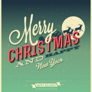 Link toSet of retro christmas and new year backgrounds vector 02