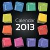 2013 Creative Calendar Collection design vector material 16