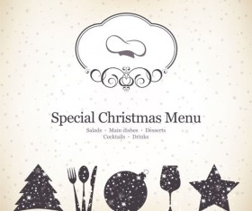 Commonly Restaurant menu cover template vector set 01