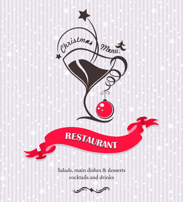 Commonly Restaurant menu cover template vector set 20 - Vector Cover ...