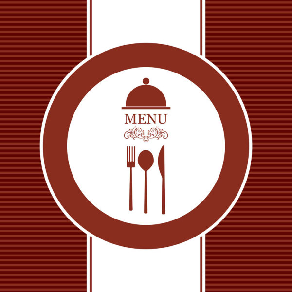 Commonly Restaurant menu cover template vector set 21 Vector – Free Downloadable Restaurant Menu Templates