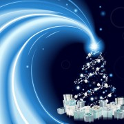 Link to2013 christmas background with gift box design vector 01