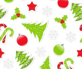 2013 Merry Christmas pattern elements vector set 01
