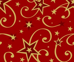 Elements of Christmas Decorative pattern vector material 05
