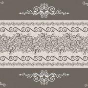 Link toVintage floral frame vector backgrounds set 04