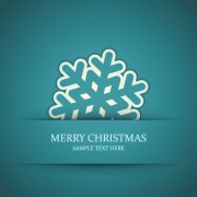 Link toSet of snowflake backgrounds for christmas vector 06
