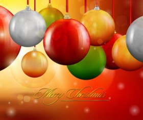 Set of Object Christmas backgrounds vector 01