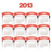 Link toCreative 2013 calendar design art vector set 01
