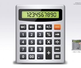 Calculator elements psd material