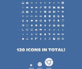 120 kind Application icon set