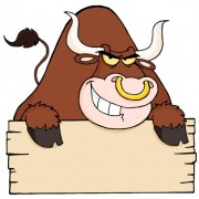 Link toSet of angry bulls design vector 02