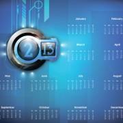 Link to2013 creative calendar collection design vector material 06