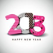 Link toCreative 2013 happy new year figures design vector set 04