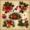 2013 Merry Christmas elements vector material set 02