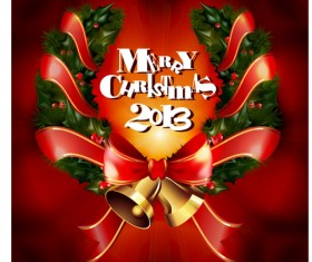 2013 Merry Christmas elements vector material set 03
