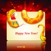 Set of 2013 Year Snake card Vector backgrounds 01