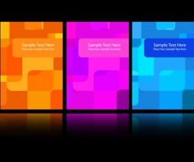Abstract backgrounds for business cards design vector 02