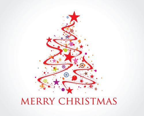 tags abstract christmas tree-#34