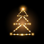Link toElements of abstract christmas tree vector material 03