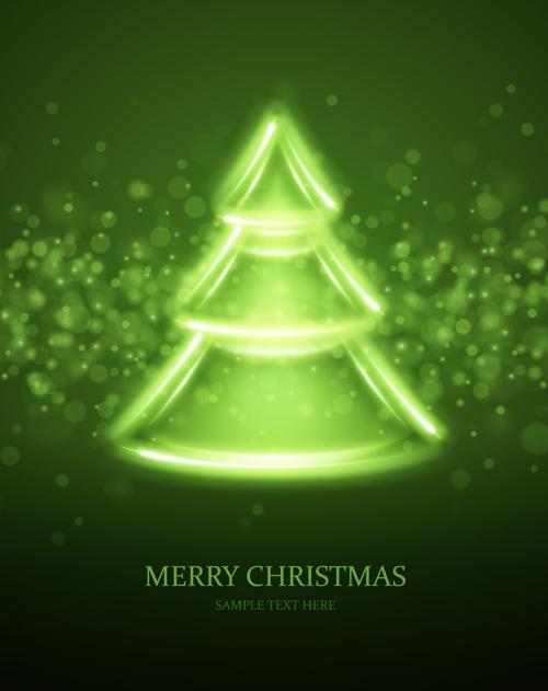tags abstract christmas tree-#17