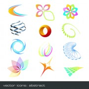 Link toVector set of abstract logos material 01