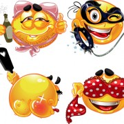 Link toDifferent adult smileys icon vector 01