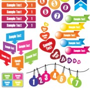 Link toVector set of business graphics and symbols elements 03