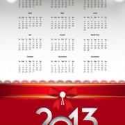 Link toElements of calendar 2013 design vector art 05